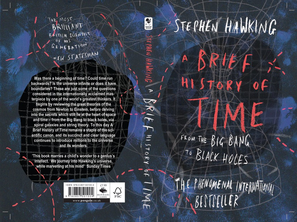 A Brief History of Time (Penguin Student Design Awards entry, 2018)